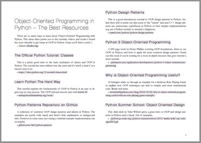 Object oriented programming concepts pdf