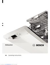 bosch dishwasher sgi53a55au 45 manual
