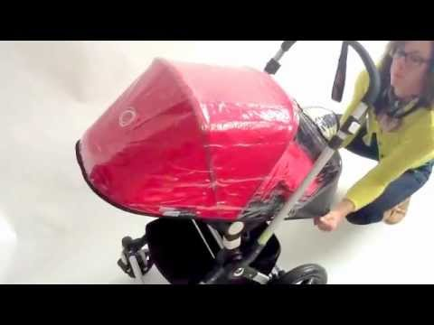 Bugaboo cameleon 3 rain cover instructions video