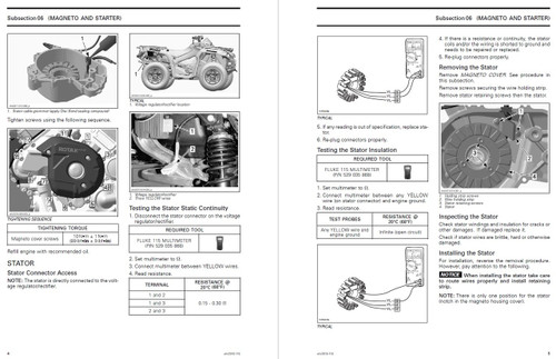 2017 can am outlander service manual