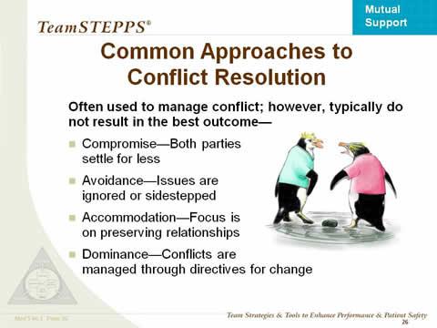 Conflict resolution in nursing pdf