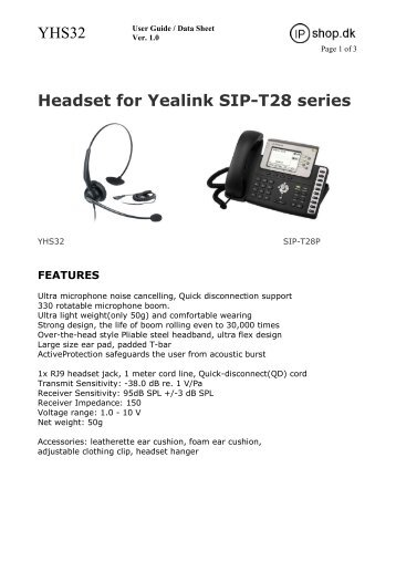 Yealink t41p quick reference guide