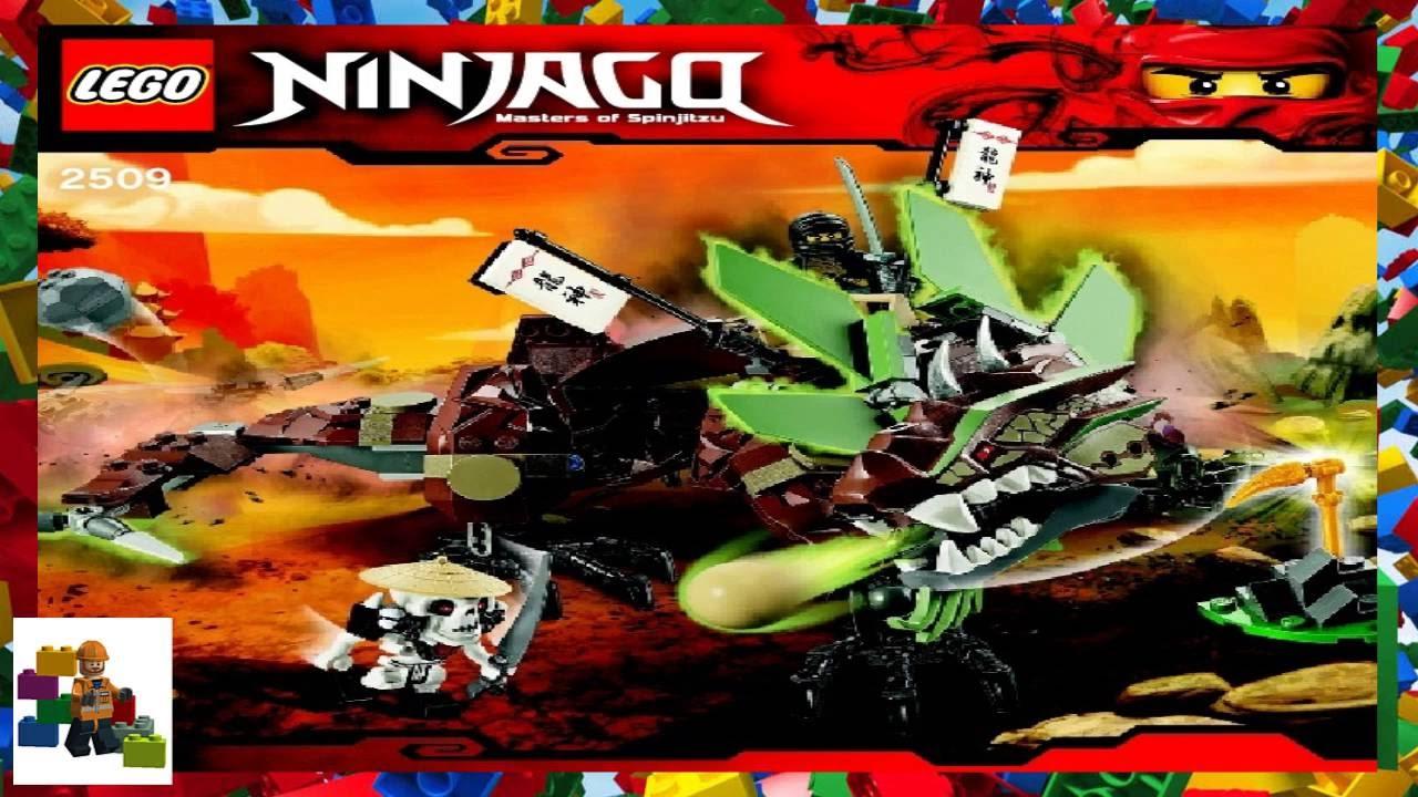instructions for lego ninjago earth dragon