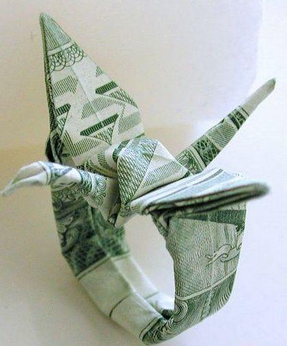 dollar origami tank instructions