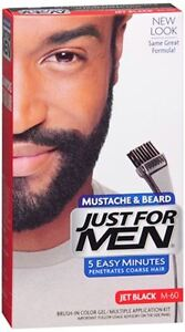 just for men mustache and beard instructions