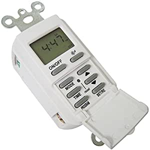 digital light switch timer instructions