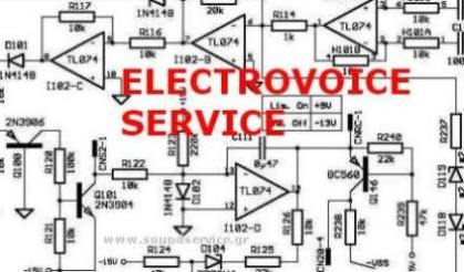 electro voice tg7 service manual