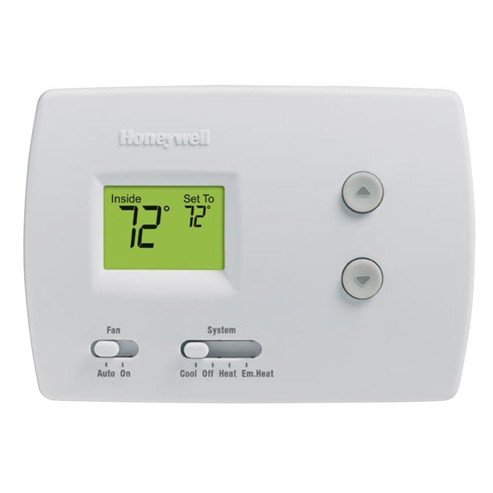 Honeywell heating thermostat instructions