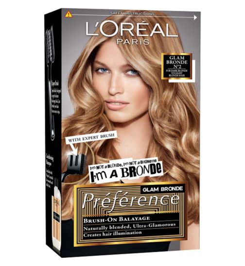 l oreal bronde instructions