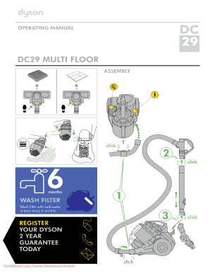 dyson toy vacuum instruction manual