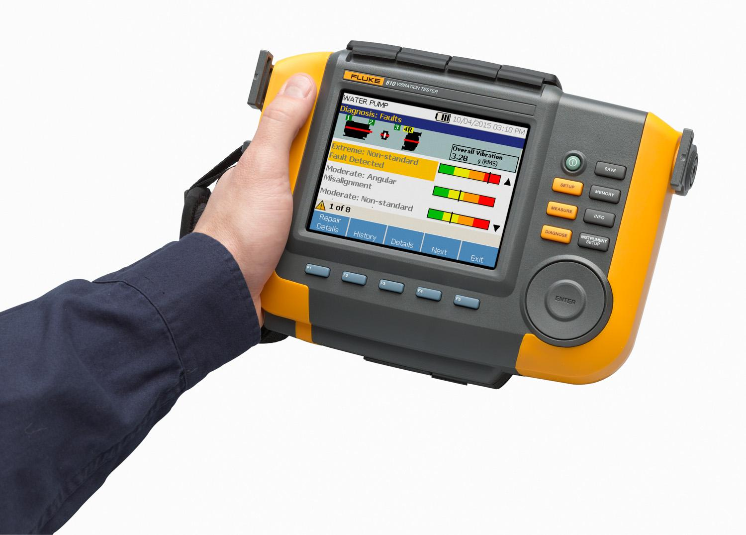 fluke 810 vibration tester manual