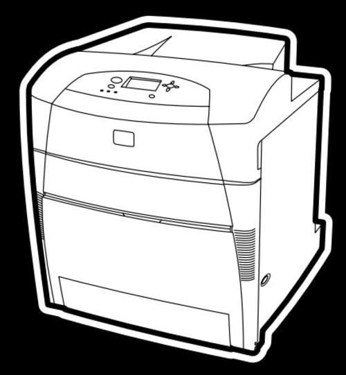 hp color laserjet 5500dtn manual