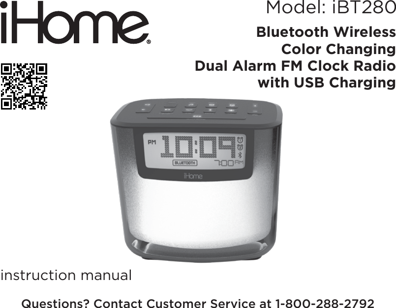 ihome alarm clock manual ipl22