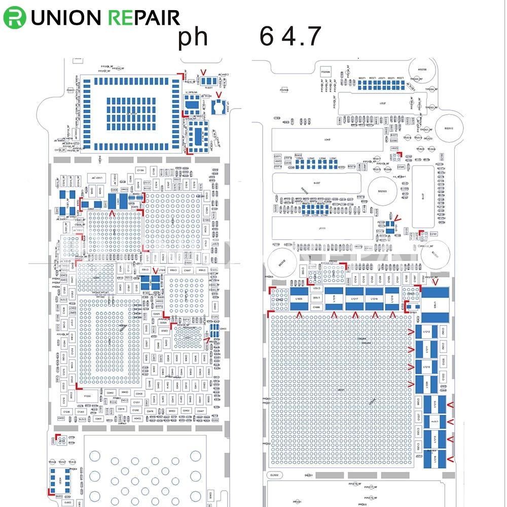 iphone 6  plus circuit diagram service manual schematic