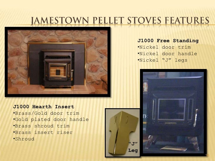 Jamestown j1000 pellet stove manual