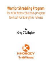 Kinobody shredding program pdf download