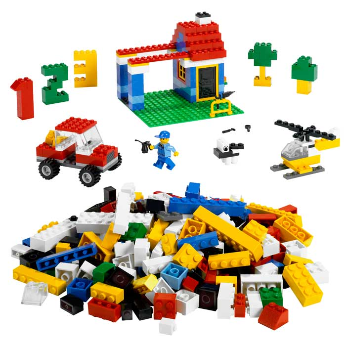 lego building instructions for extra pieces