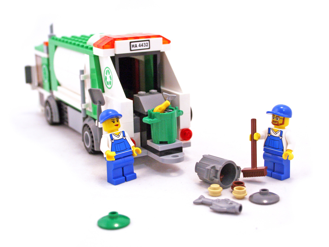 Lego garbage truck instructions 4432