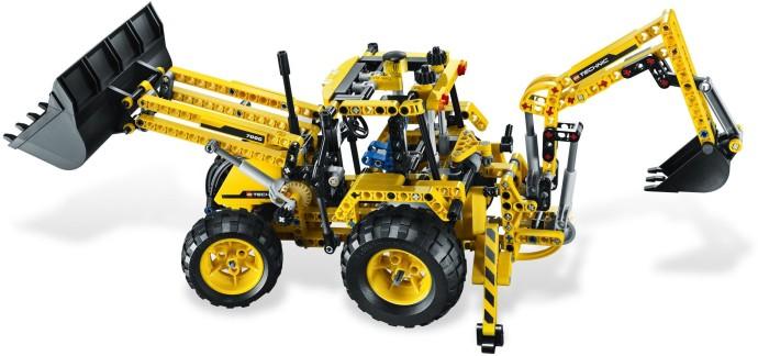 lego technic backhoe loader 8069 instructions