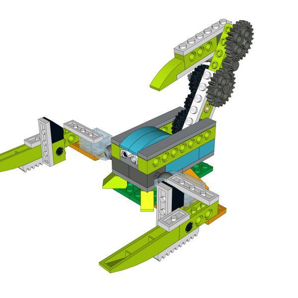 Lego wedo crocodile instructions