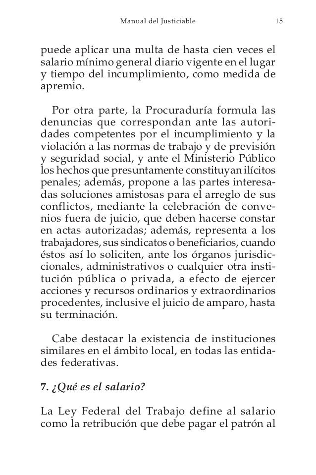 Manual del juicio de amparo en materia laboral