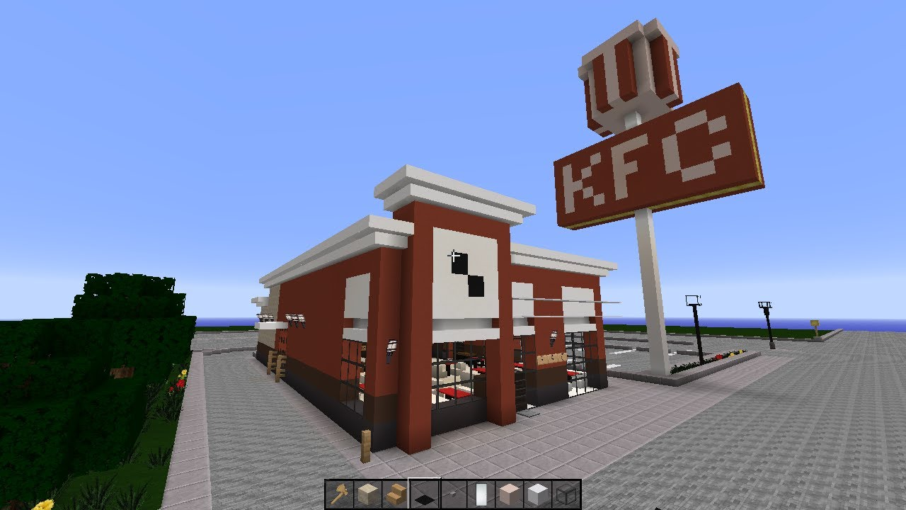 Minecraft how to build a chinese restaurant