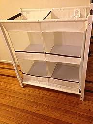 Munchkin nursery essentials organizer instructions