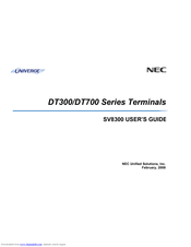nec dt300 manual speed dial
