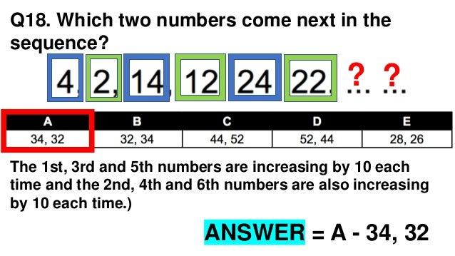 Numerical reasoning test with answers pdf