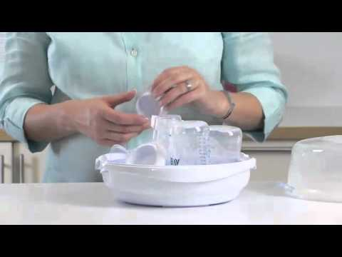 Philips avent bottle sterilizer instructions