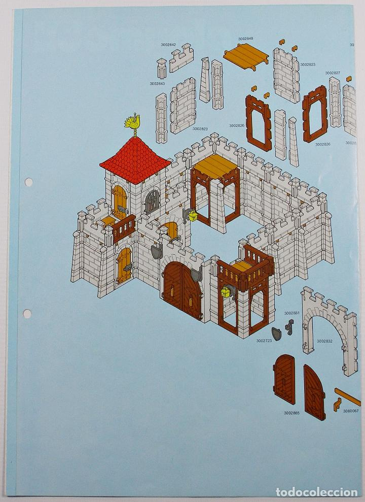 playmobil castle instructions 3450