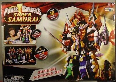 power rangers deluxe megazord samurai gigazord instructions