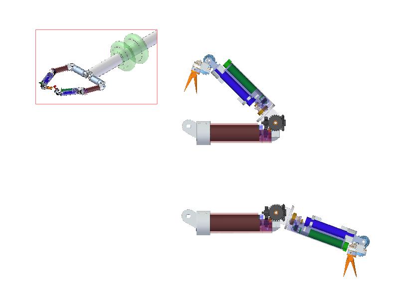 Single-port laparoscopy bimanual robots