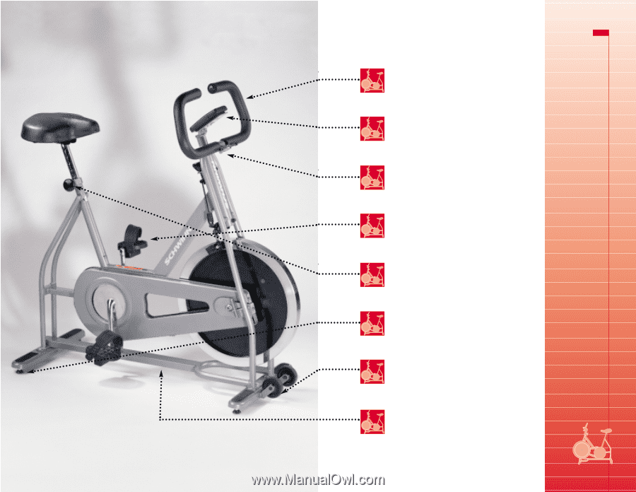 tempo exercise bike computer manual