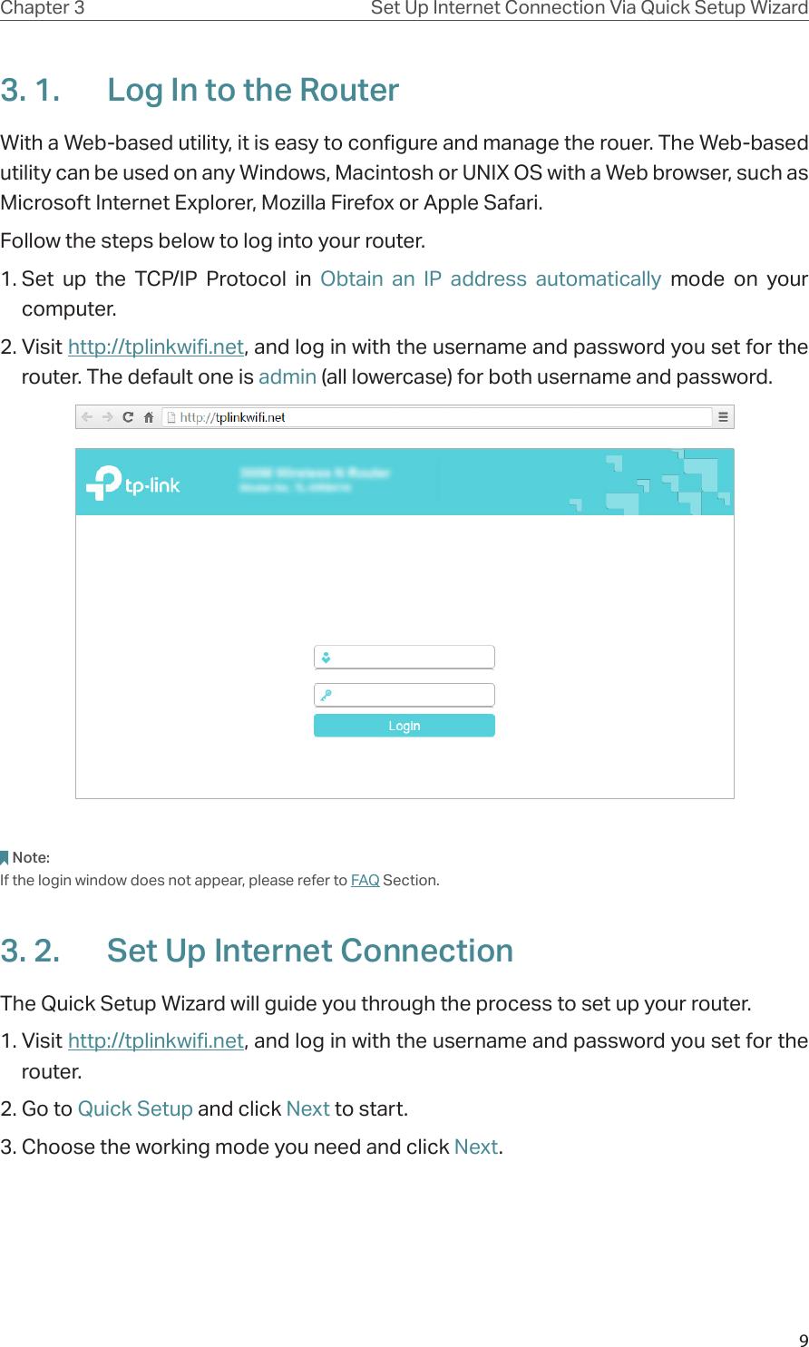 tp link nano router manual