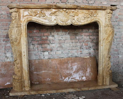 Travertine fireplace mantels how to clean