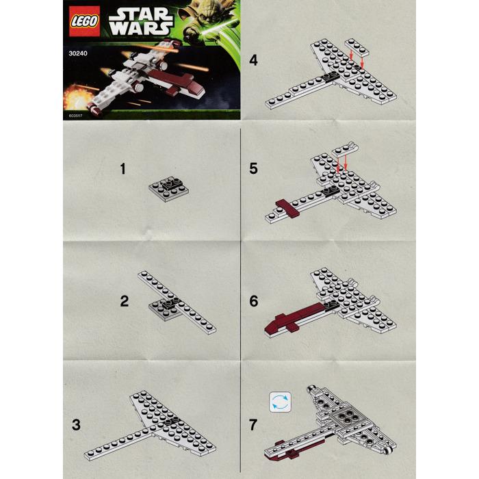 z 95 headhunter lego instructions